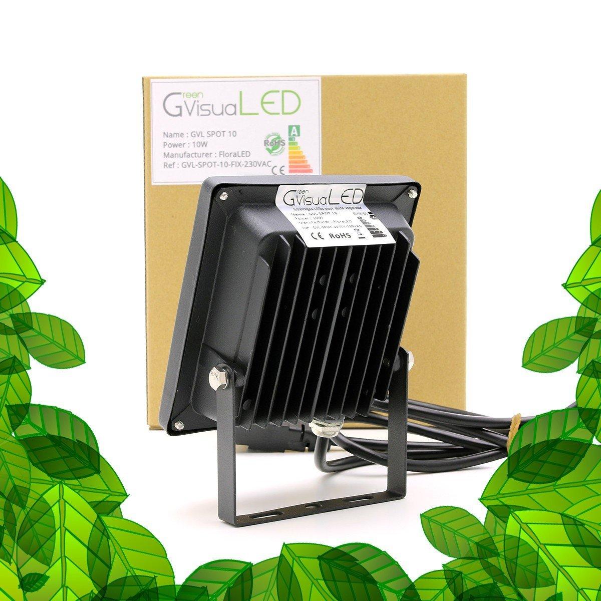 ampoule gu10 pour plantes vertes bonsais et cadres v g taux greenvisualed. Black Bedroom Furniture Sets. Home Design Ideas
