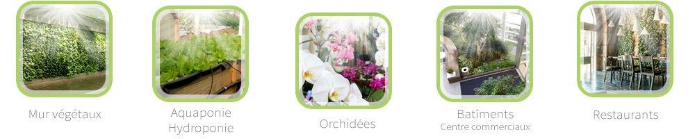 lampe horticole orchidee carnivores aquaponie hydroponie plantes vertes